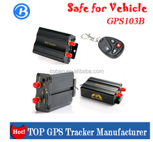 103b gps car tracker supports SMS and internet/vehicle gps tracker tk 103 manufacturer