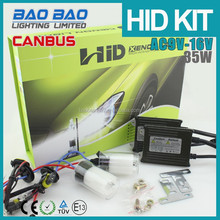 Newest Error Free High Power 50W/55W AC Super Slim Car Canbus HID Kit H1 H3 H4 H7 H8 H9 H10 H11 H13 for Car Headlamp