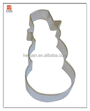 "CU-159 Snowman Top Hat 4"" Cookie Cutter in Durable, Economical, Tinplated Steel"