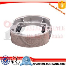 Motorcycle Parts Rear Brake Shoes Assy For Suzuki AX100