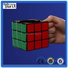 Hot sell Rubik's square ceramic 3D cube mug, custom interesting big mouth coffee cube mug