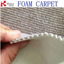Alibaba china branded carpet covering foam backed carpet