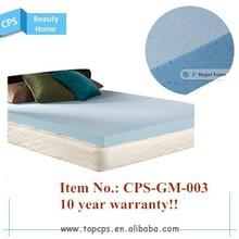 2015 new true sleeper memory foam mattress, cool gel mattress topper