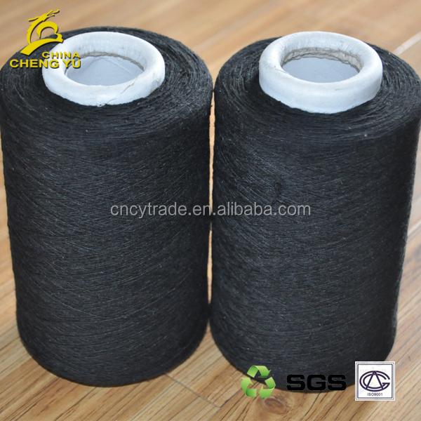 black glove yarn 5