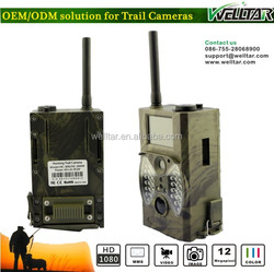 WIth 940NM No Glow LED Infrared Live Hunting Camera 1080P HD Screen, MMS GSM Capabilities For Sending Pictures To Cell Phone