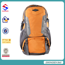 Custom design high quality mountaineering backpack camping hiking tactical backpack promotional travel backpack bag