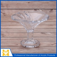 Factory supply plastic wine glass with lid