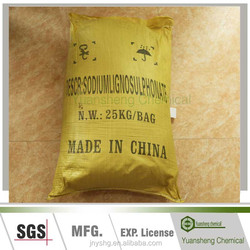 SF-1 sodium lignosulphonate used as modified additive for high-efficiency slow-release compound fertilizers