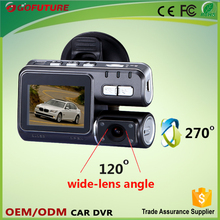 hd car dvd player with reversing camera for car dvr / car black box dvr