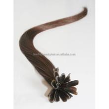 u-tip hair ~ hot sales human Brazilian 100% remy hair extention