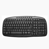 Germany layout multi-media gaming keyboard with Backlit and font lighting