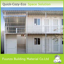 PU Sandwich Panel Prefab Container Houses