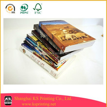 Black/white A5 fiction book printing for small and medium publishers