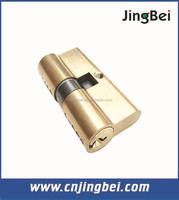 60mm euro profile brass cylinder lock