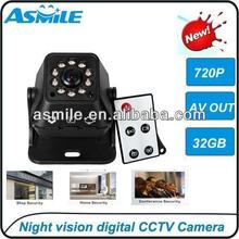hd sdi camera Portable Surveillance Motion Detection Camera AV OUT VM-226A