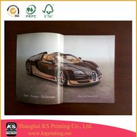 Glossy art paper magazine printing in China
