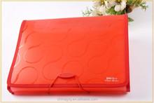 Office Stationery Plastic Pockets File Folder A4 Expanding File