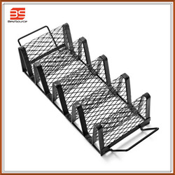 Non-stick rib rack for 4 ribs,roasting rack