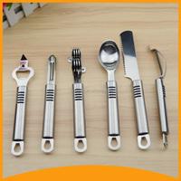 new products 2016 kitchen knife sharpener slicer spoon opener set