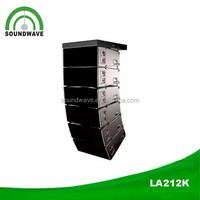Audio speaker LA212K edison professional dj equipment