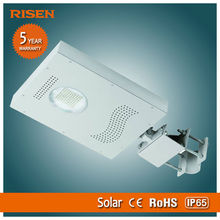 High Power 30W Solar Street Led Light System Panel Ce Rohs