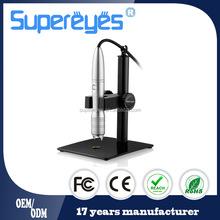 OEM/ODM 1-500X 5 MP sensor auto focus digital high resolution usb microscope camera