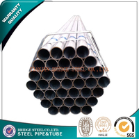 BS1387 hot dipped galvanized steel pipe with socket and thread made in China