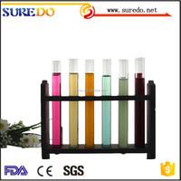 Disposable borosilicate glass test tube accept custtom order