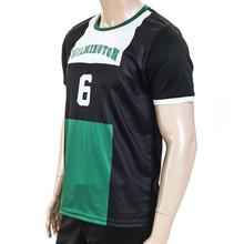2015 manufacturer OEM service cotton polyester sports jersey new model, jersey soccer