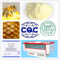 Top quality royal royal jelly lyophilized powder, free sample,KOSHER HALAL certified manufacture