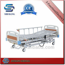 SJ-YE103 hospital bed with three functions and adjustable and detachable head and foot board
