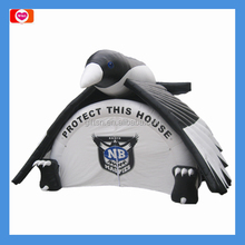 Fun and cool animal shaped inflatable tent inflatable camping tent air tent for outdoor activities