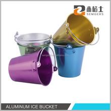 1.25L suave de aluminio anodizado cubo de hielo