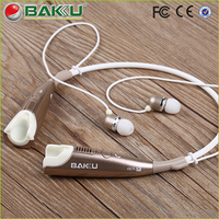 2015 stylish mobile phone stereo best bluetooth wireless sport headphone