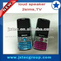 Hot Selling Dual SIM quad band Cell Phone with TV Q9