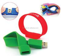 wholesale promotional cheap usb pen drive 1gb 2gb usb memory stick/logo printed 4gb 8gb usb 3.0 flash drive wristband