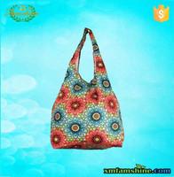 nylon foldable reusable shopping bag