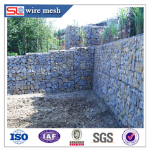 Different type for galvanized welded gabion basket in China