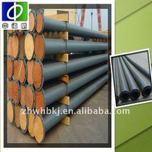 warm welcomed high quality rubber coated pipe