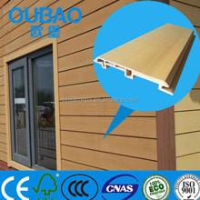 Écologique 113 * 16 mm composite bois plastique composite extérieur bardage