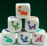 new design popular 6-side sex dice toys for women and adult