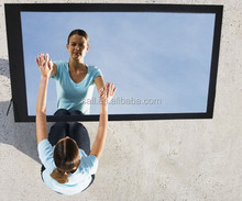 "46"" lcd media player network interactive mirror tv"