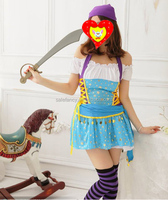 Ladies Pirates of the Caribbean Jack Sparrow Womens Cosplay Dress Fancy Costume pictures QAWC-2168
