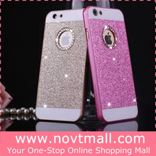 New Cheap for iphone 6 Case for iphone 6 Glitter Case Cover for iphone 6 Plastic Case