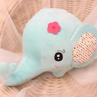 soft stuffed plush colourful elephant