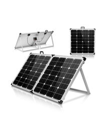 40W 60W 80W 100W foldable solar panel monocrystalline for 12V battery