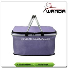 Insulated Collapsible Oxford Foldable Picnic Cooler Ice Bag