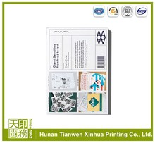 Beautiful product custom printing company catalogue