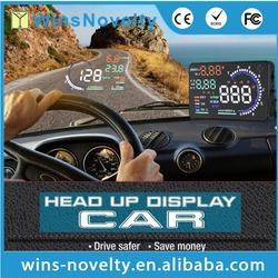 """A8 Car HUD Head Up Display OBD II OBD2 Auto Gauge 5.5"""" Dash Screen Projector"""