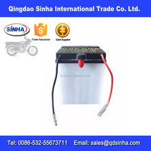 AZ139 Dry charged motorcycle battery for bajaj boxer (yb6.5, 12N6.5-3A)